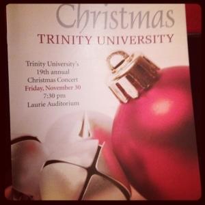 Trinity Christmas Concert