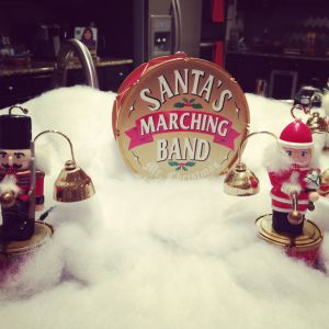 A favorite part of Christmas since my childhood: Santa's Marching Band