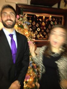 This is what usually happens when my brother and I take a picture together