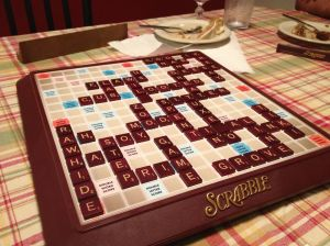 Christmas Day Scrabble