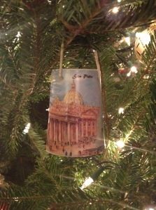 One of the ornaments we bought on our honeymoon in Italy