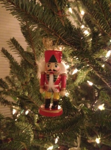 We bought this ornament this year when we saw The Nutcracker at The Majestic