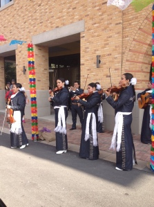 Mariachis at the tamale festival
