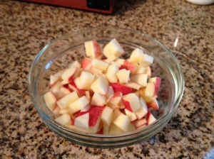 Apples: one of Wrigley's favorite foods