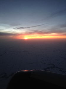 Flying out of Minneapolis