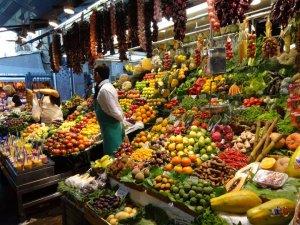Market in Las Ramblas
