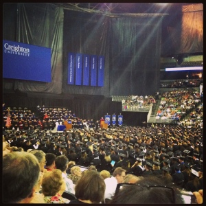 Creighton graduation