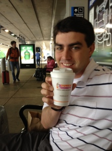 When in Boston: drink Dunkin' Donuts coffee