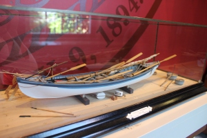 Model of a whaling boat