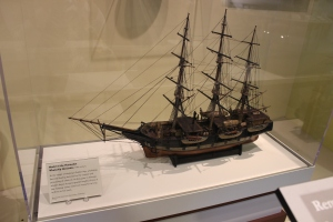 Model of a whaleship