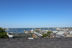 The view of Nantucket from the top of The Whaling Museum