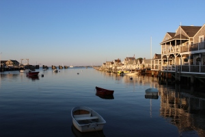 Nantucket in the evening