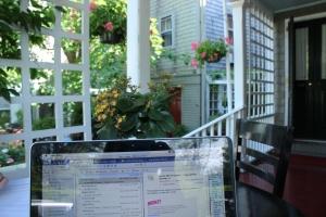 My temporary office