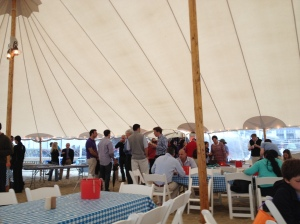 Conference clam bake