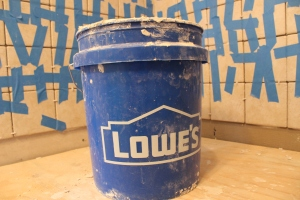 This remodeling has been brought to you by Lowe's. Let's build something together.