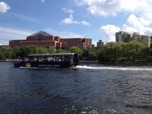 Another duck tour cruising by