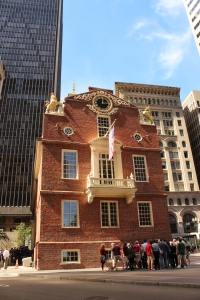 Site of the Boston Massacre in 1770
