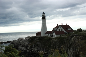 Portland Head Lighthouse in Cape Elizabeth