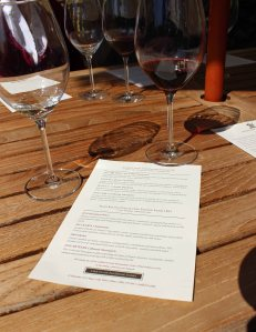 Wine tasting at Stag's Leap