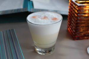 One of the best pisco sours I've had since studying abroad in Chile