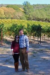 One last picture in front of the Gundlach Bundschu vineyard