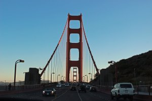 One last view of the Golden Gate Bridge
