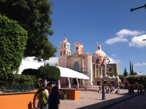 Filming while in Tequisquiapan