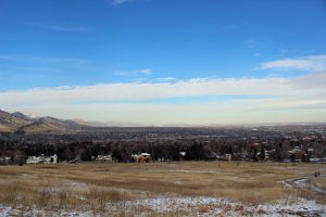 Our view of Boulder