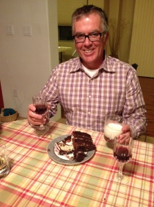 My dad loves dessert