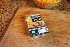 Pre-diced pancetta