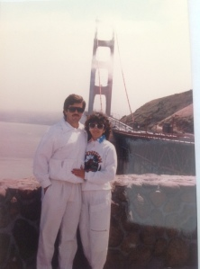Last time my parents were in San Francisco was 30 years ago. Can you say Miami Vice?