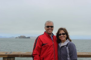 Mom and Dad at Pier 39