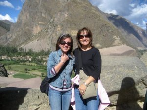 The ruins of Ollantaytambo