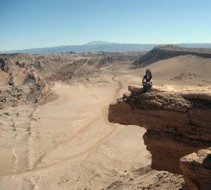 Part of the tour of Valle de la Muerte and Valle de la Luna