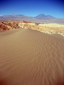 Part of the tour of Valle de la Muerte and Valle de la Luna
