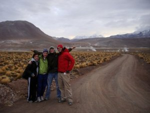 Leaving El Tatio