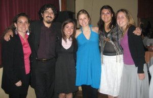 End of the semester with Vivi, Claudio, Katie, Pame, and Caitlin