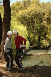 Ziplining in Puyehue
