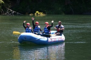 River rafting in Pucon