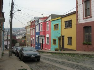 Exploring neighboring city Valparaiso