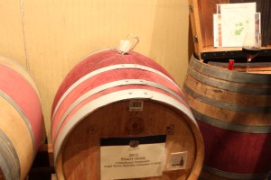 The wine thief: this is how we were given samples from the barrels