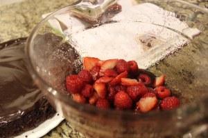 Making another Ina Garten dessert