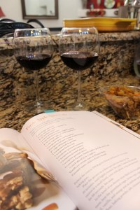 My favorite cooking rules: have wine and start with dessert