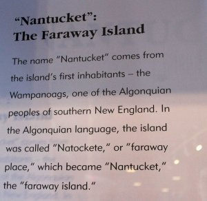 Learning about Nantucket's history