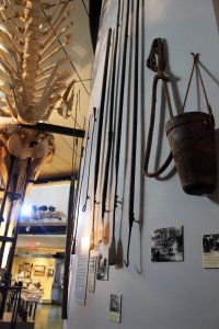 Some of the tools involved in whaling
