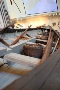 Looking in the whaling boat