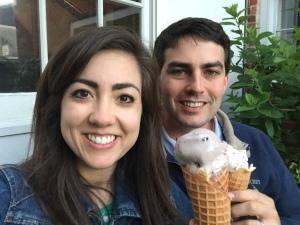 Ice cream from The Juice Bar: the best way to end a day in Nantucket