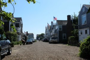Walking around Nantucket