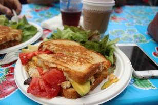Breakfast at the Embarcadero Farmer's Market