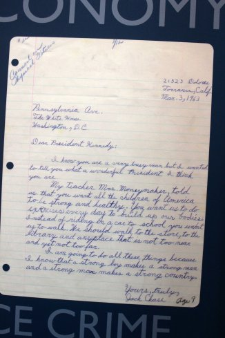 A letter to President Kennedy